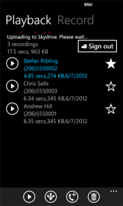 Call Recorder Playback Record