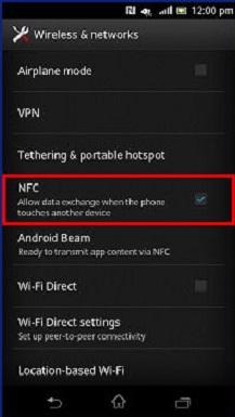 NFC Turn ON OFF
