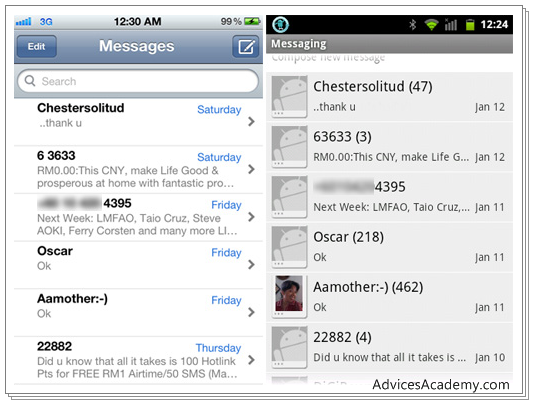 How to Move iPhone SMS, Text Messages to Android Phones