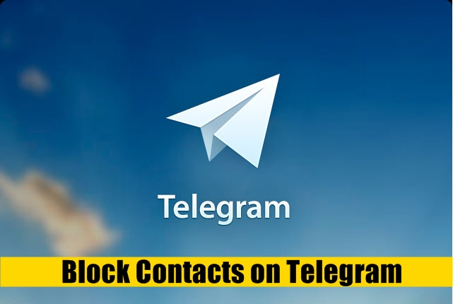 Block Telegram Contacts