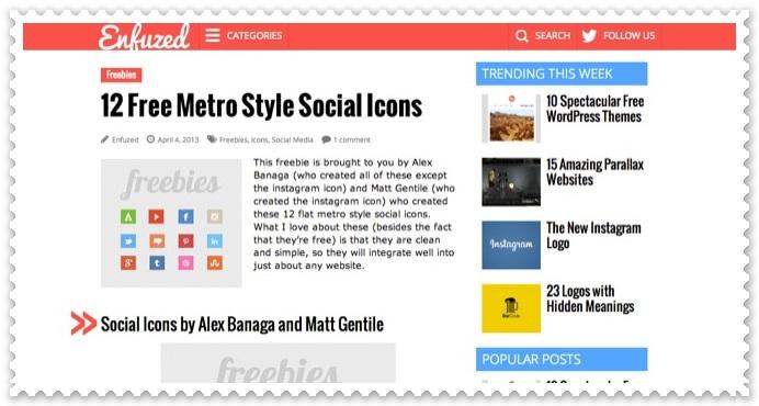 Metro Style Icons