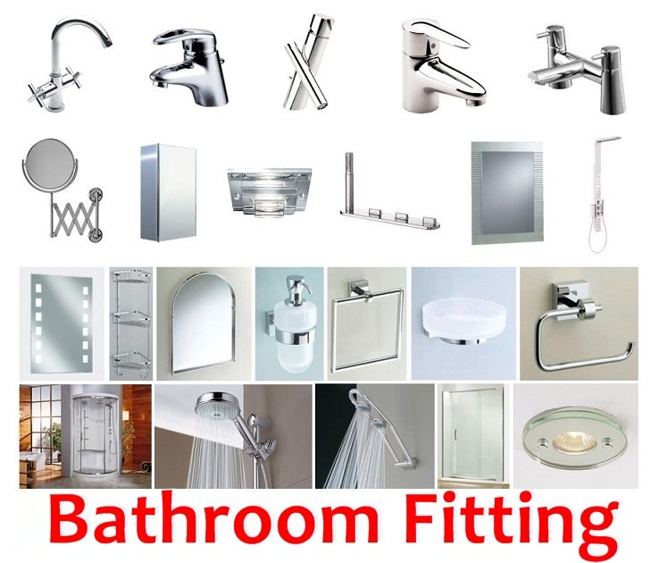 Comprehensive list of must have bathroom fittings for Bathroom room accessories
