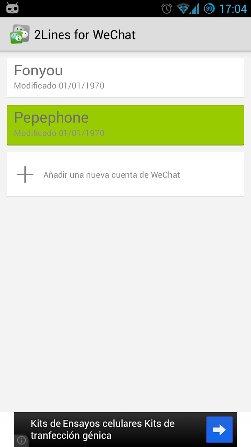 Multiple Wechat Account Android