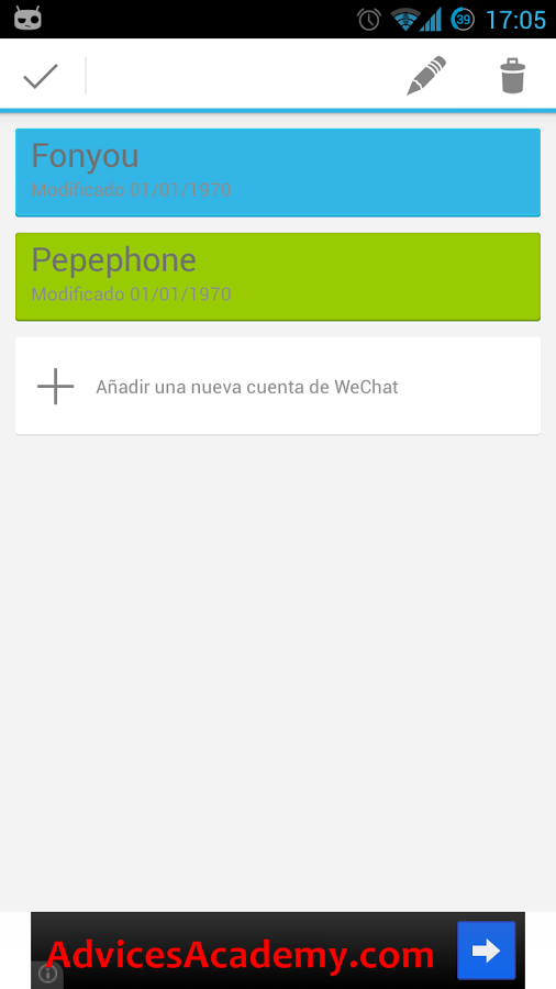 Multiple Wechat IDs