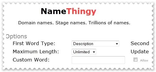 NameThingy