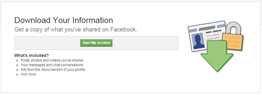 Facebook Account Download