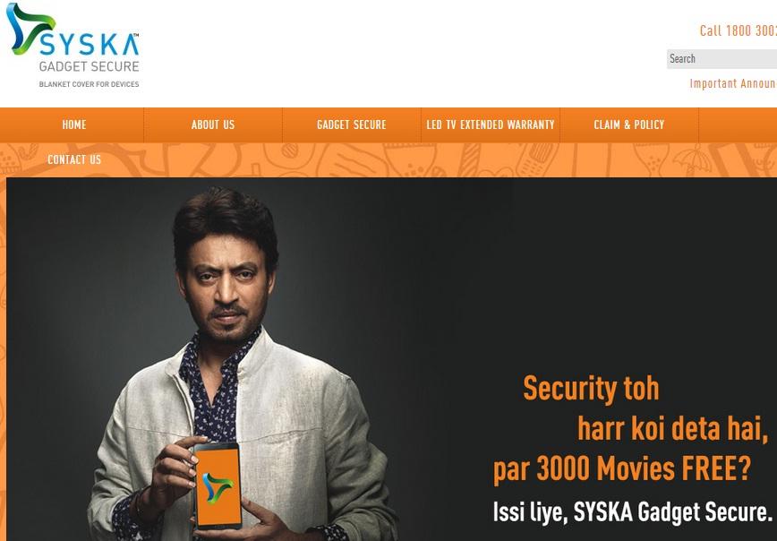 Syska Gadget Secure