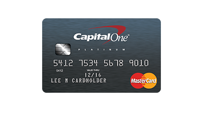 For credit card credit bad unsecured capital one