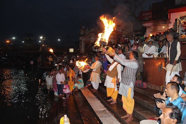 Aarti to River Ganga