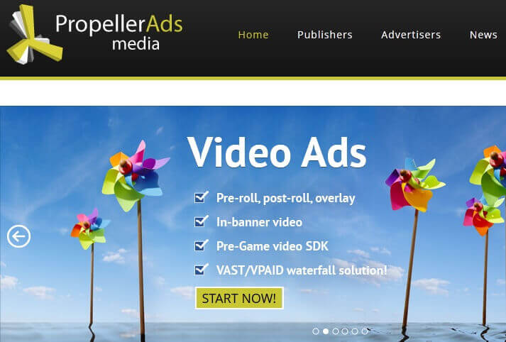 Propeller Ads Review
