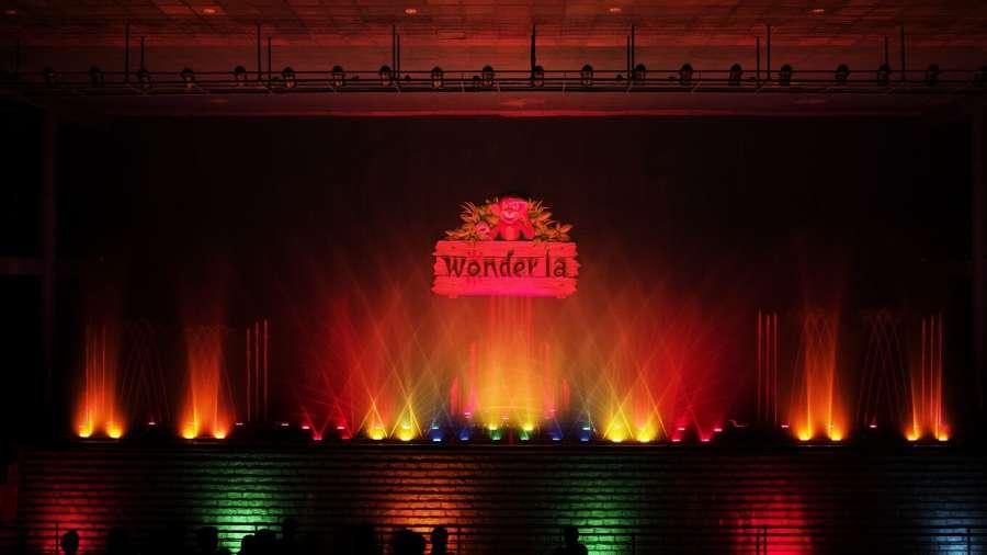 Wonderla Musical fountain laser show