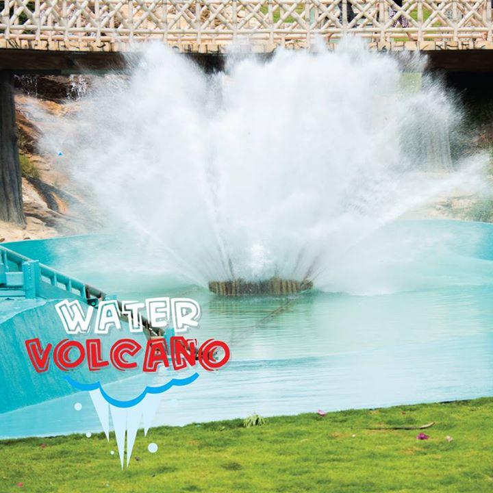 Wonderla Water Volcano