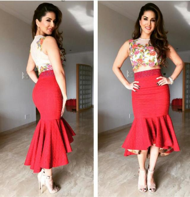 Sunny Leone Favorite Outfit