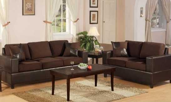 Bobkona Seattle Microfiber Sofa