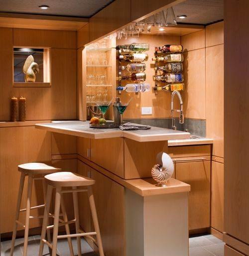 Mini Kitchen Bar design