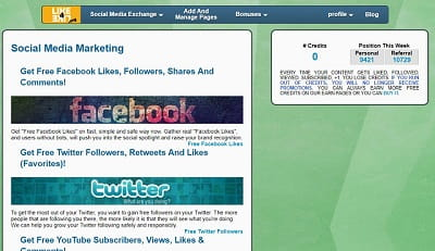 10 Sites for Facebook Likes, Twitter Followers, Digg