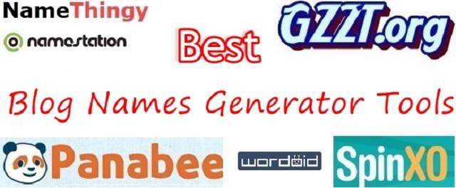 Best Blog Names Generator Tools