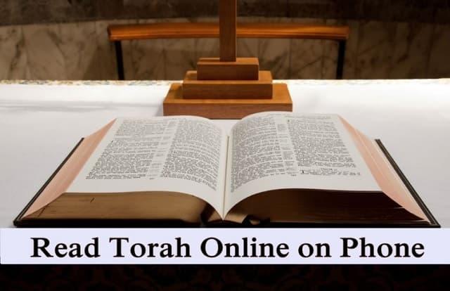 Read Torah online phone