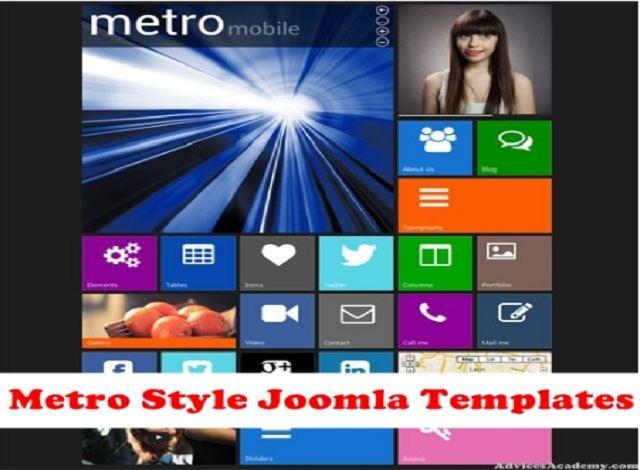 Best Metro Style Joomla Templates