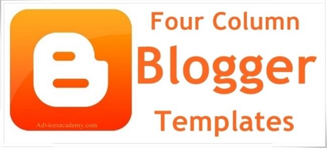 Four Column Blogger Templates