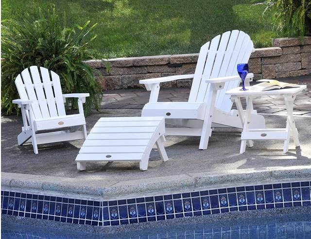 Poolside Adirondack Chairs