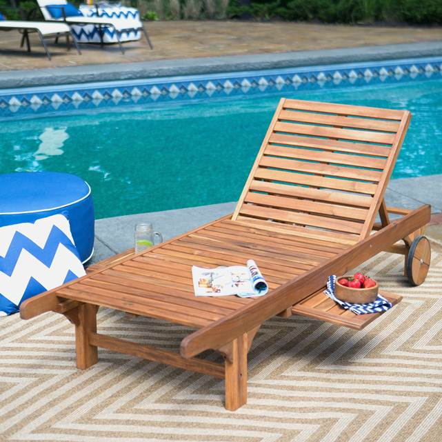 poolside Chaise Lounges