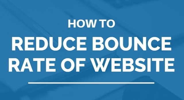 Reduce Bounce Rate of Website