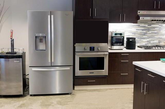 Whirlpool smart refrigerator