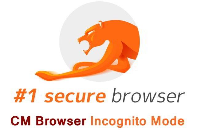 CM Browser Incognito Mode