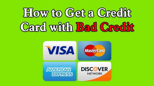 Credit Card for Bad Credits
