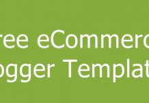 Free eCommerce Blogger Templates