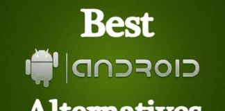 Best Android alternatives 2019