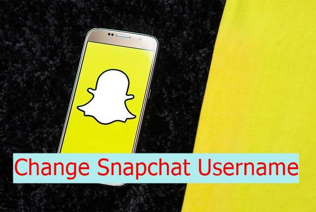 Change Snapchat Username
