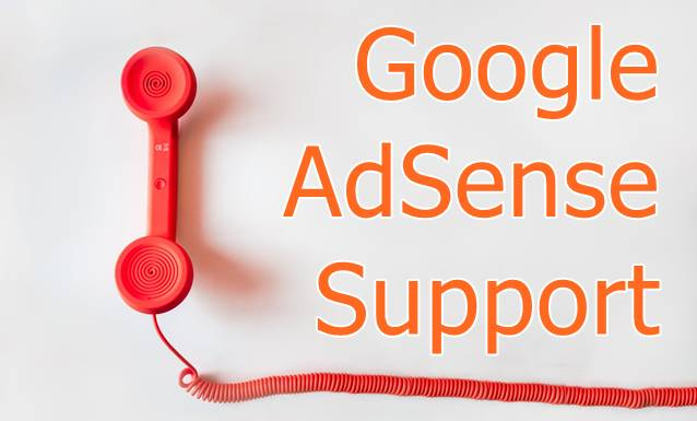 Contact AdSense Support