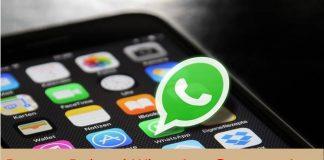 Restore Deleted WhatsApp Conversations