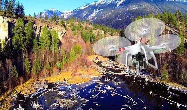Travel Drone sattelite view