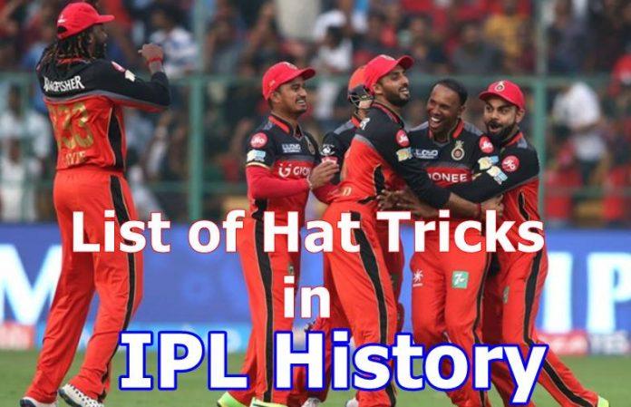 List of Hat tricks in IPL