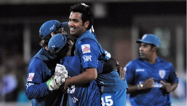 Rohit Sharma IPL hat trick